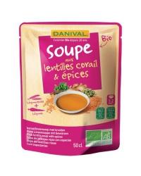 Danival - Soupe de Lentilles Corail et Epices