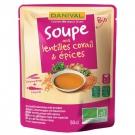 Soupe de Lentilles Corail et Epices