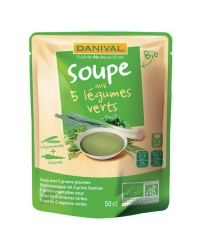 Soupe au 5 Légumes verts