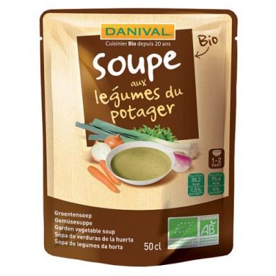 Danival - Soupe aux Légumes du Potager
