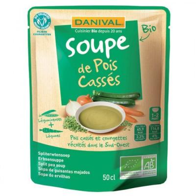 Danival - Soupe de Pois cassés