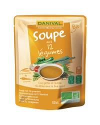 Danival - Soupe aux 12 Légumes