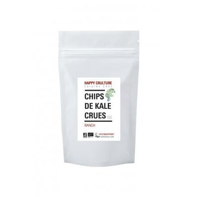 Chips de kale crues ranch 35g