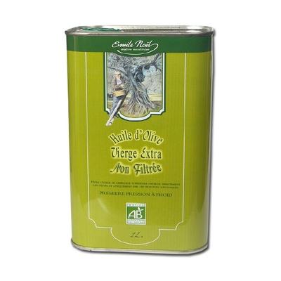 Huile d'olive non filtrée bidon 1l