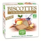 Biscottes à la Farine d'Epeautre