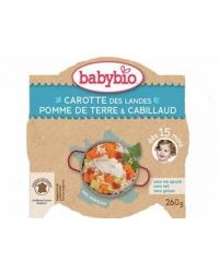 Assiette Carotte Pomme de Terre Cabillaud