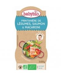 Bols de Légumes Saumon Pâtes