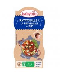 Bols Bonne Nuit Ratatouille et Riz