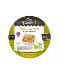 Assiette poulet olives danival 320g
