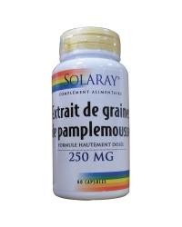 Extrait de graines pamplemousse 250mg 60gel