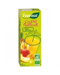 Evernat - Jus Cocktail Multifruits