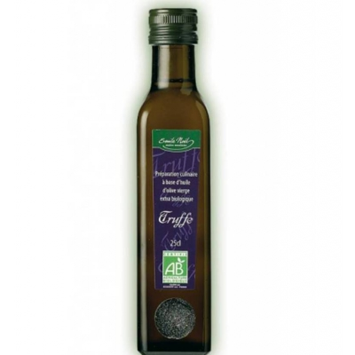 Huile d' olive aromatisee a la truffe 25cl
