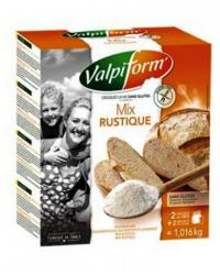 Mix farine rustique avec levure - s/gluten - valpi