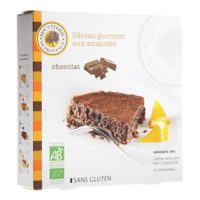 Biscuiterie de Provence - Gâteau aux Amandes Chocolat