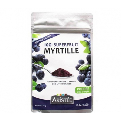 100% superfruit myrtille 60g