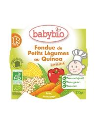 Babybio - Mon P'tit Plat - Fondue de Petits Légumes au Quinoa