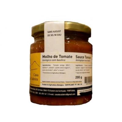 Sauce tomate au Basilic caldeira 200g