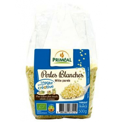 Perles blanches priméal 500g