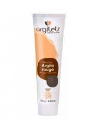 Masque argile rouge tube - argiletz 100ml