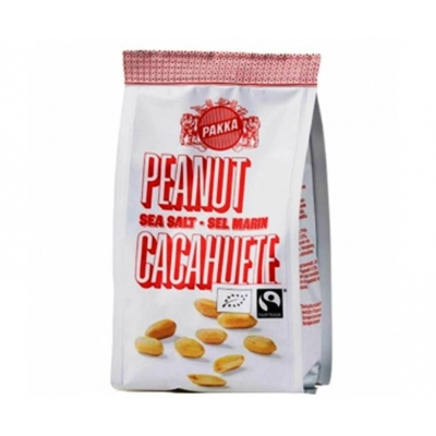 Cacahuètes grillées au sel marin 150g