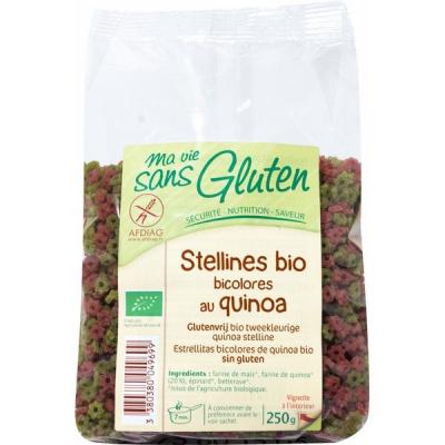 Pâte stellines quinoa ss gluten 250g