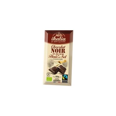 Chocolat Noir 70% Fleur de Sel