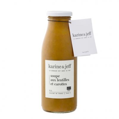 Soupe de Lentilles & Carottes