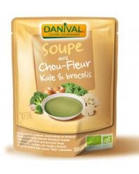 Soupe aux Chou-Fleur, Kale & Brocolis