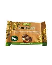 Chocolat au Lait et Amandes Croustillantes
