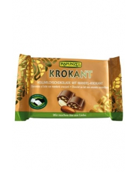 Chocolat Lait Amandes Croustillantes