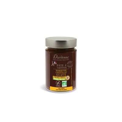 Pâte à tartiner noisette choco fructose 350g