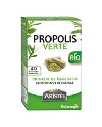Propolis verte baccharis du brésil40 gélules