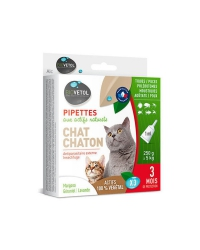 Pipettes Antiparasitaires pour Chat
