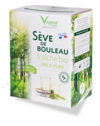 Sève de Bouleau Fraîche non Pasteurisée 5 Litres