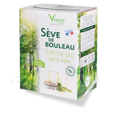 Sève de bouleau fraiche vegetal water 5l