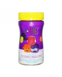 U-Cubes, Gommes Multivitamines et Minéraux