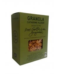 Granola aux Carottes et au Gingembre