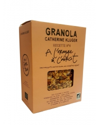 Granola à l'Orange et à l'Abricot