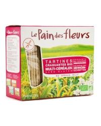 Le Pain des Fleurs - Tartines Craqauntes multi-céréales
