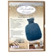 Bouillotte classique bleue petrole