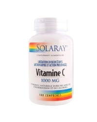 Vitamine c 1000mg solaray 100comp