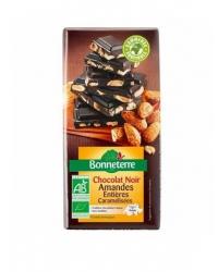 Chocolat Noir Amandes Caramélisées