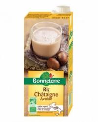 Boisson chataigne riz avoine 1l