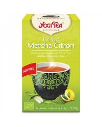 Yogi Tea Thé Vert Matcha Citron