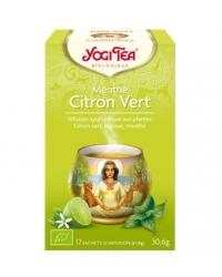 Yogi Tea Menthe Citron Vert