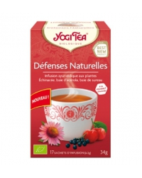 Yogi tea défenses naturelles 17inf