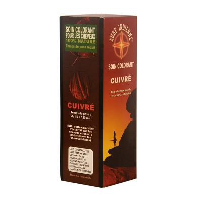 Coloration aube indienne cuivre 100g