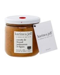 Cocotte  de Fenouil, Potimarron et Figues