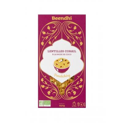 Curry de Lentilles Noix de Coco Dal Pondichéry