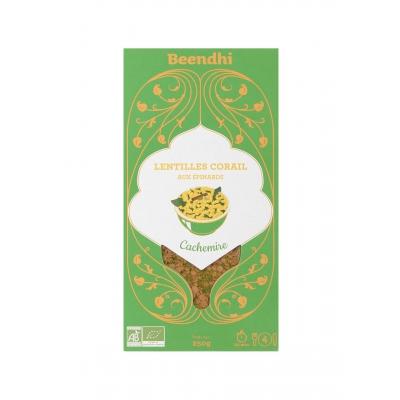 Curry de lentilles épinards dal cachemire 250g